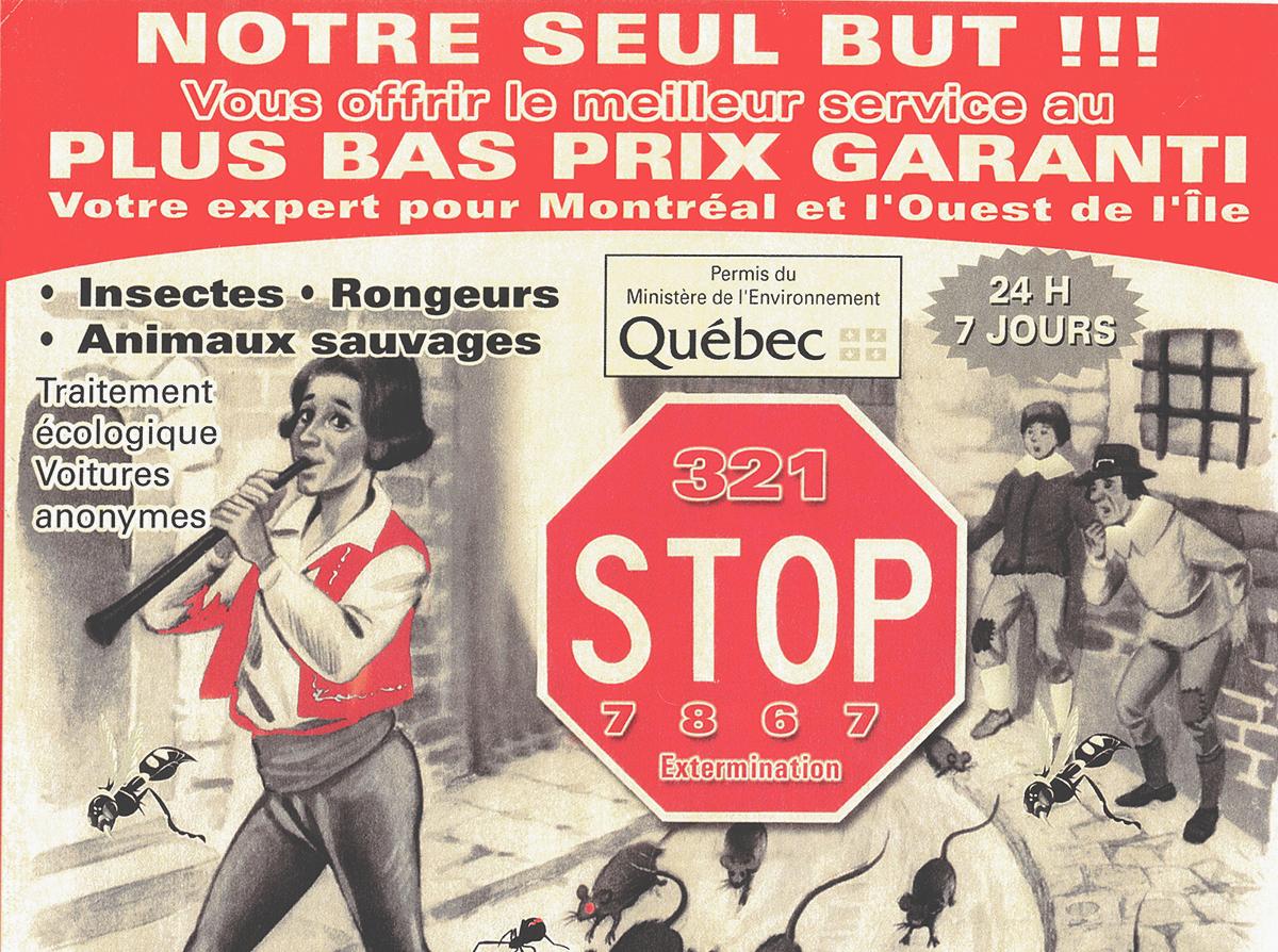 Exterminateur Blainville | Montreal | Laval